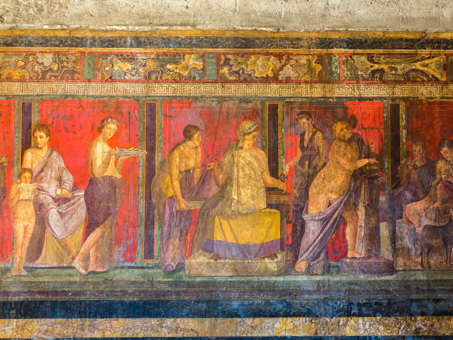 Pompeii history tour - Michael Deeley History tour guide to Pompeii